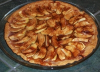 Apple Tart; Donna's Dish of the Month
