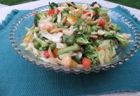 Broccoli Cabbage Crunch Salad