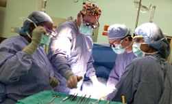 UW Health Burn Center: Physicians in the operating room