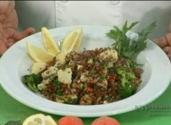 Quinoa Roasted Vegetable Stir Fry; Cooking Outside the Box with Chef John