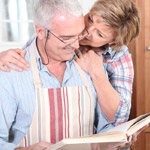 UW Health Diabetes Management: Man and woman reading recipe