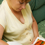 UW Health Diabetes Management: Woman reading a recipe