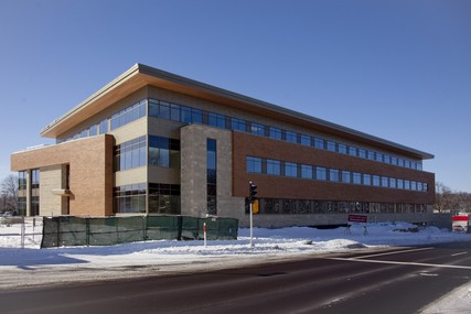 Progress on the new UW Health Digestive Health Center, which opened April 8, 2013. Photo from February 2013.
