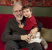 UW Health Digestive Health Services patient Palmer and grandson