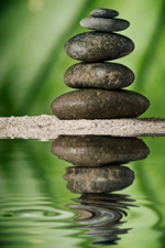 UW Health Integrative Medicine Feldenkrais: balanced rocks