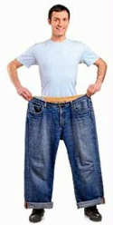 UW Health medical and surgical weight management: Man with too big pants