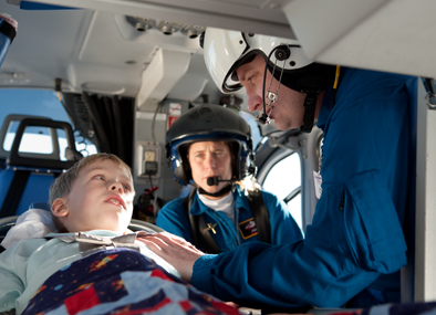 In 2007, UW Health opened American Family Children's Hospital, providing the region with a unique state-of-the-art health care facility for children and families. Med Flight brings kids of all ages to Madison to be cared for at the Children's Hospital.