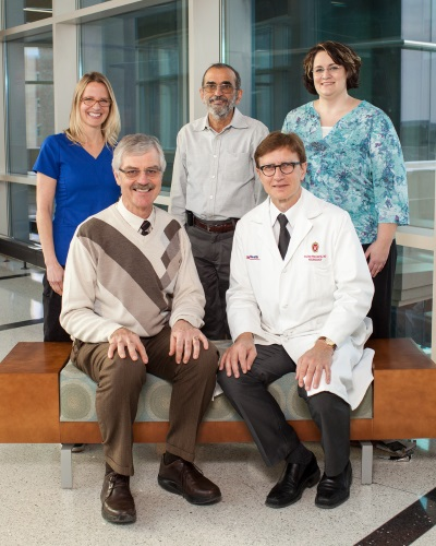 UW Health neuromuscular laboratory group team members
