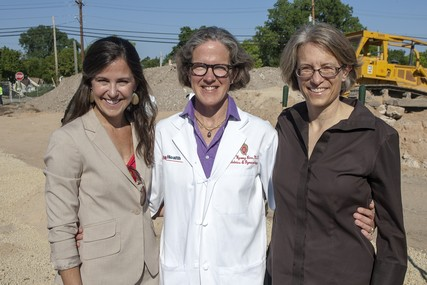 Doctors Cynthia Anderson, Laurel Rice and Laura Sabo of the UW Department of Obstetrics and Gynecology.