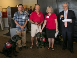 The UWMF Employee-Directed Charitable Giving Program made a donation to the Custom Canine Service Academy in 2014.