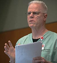 UW Health nurse Marc Rosenthal, RN, spent six weeks in Sierra Leone helping treat patients with Ebola