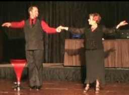 UW Hospital and Clinics CEO Donna Katen-Bahensky and dance partner