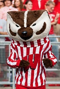 University of Wisconsin mascot Bucky Badger