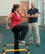 UW Health Sports Medicine Services: Trainer working with athlete
