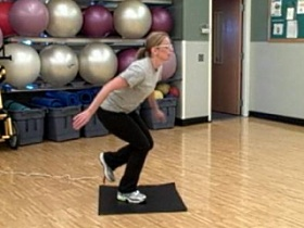 UW Health Sports Rehabilitation ACL rehabilitation hop tests