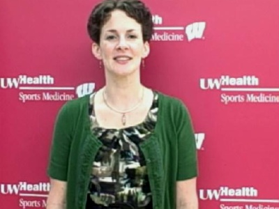 UW Health Sports Medicine rehabilitation therapist Katy