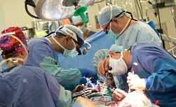 UW Health Endocrine Surgery: Surgeons in the operating room
