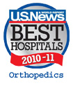 US News and World Report Best Hospitals: Orthopedics