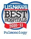 US News and World Report Best Hospitals: Pulmonology