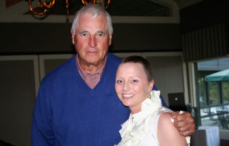NCAA Coach Bobby Knight and Lexy Austin, Lymphoma Survivor