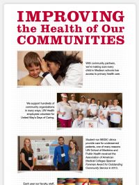 UW Health in Madison, Wisconsin - Improving the Health of Our Communities