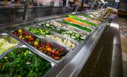 University Hospital patient guide caferia: Salad bar