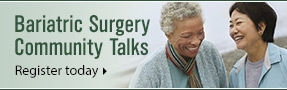 Register now for the UW Health Weight Management Surgery Community Talk.