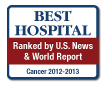 U.S. News and World Report Best Hospitals, Cancer, 2012-13