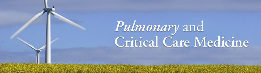 Pulmonary and Critical Care Medicine