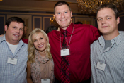 Members of the Emerging Leadership Board at the From Munich to Madison event in 2011