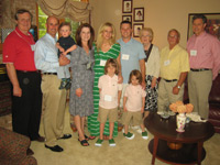The Carney Family with Dr. Walter Longo and Dr. George Wilding