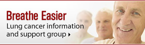 Breathe Easier: Lung Cancer Information and Support Group