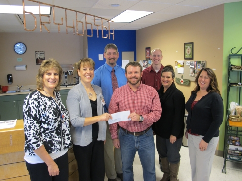 UW Hospital and Clinics employee-directed giving: Dry Hootch