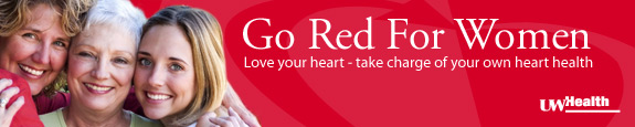 UW Health Go Red for Women e-Newsletter