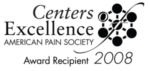 American Pain Society award logo