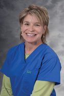 Susan Hubanks, RN, BSN, CPON, 2008 nursing excellence award winner
