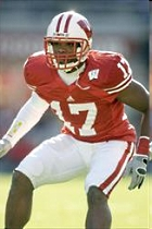 University of Wisconsin football player