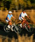 Couple Biking; UW Health brings you monthly wellness tips through their @UW Health e-Newsletter