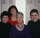 Rita Britt and family; Rita shares her cancer experience