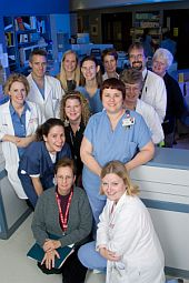 UW Health burn care staff