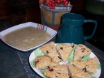 Irish Colcannon Soup and Scones; Advances Recipe of the Month provides nutritious ideas for staying healthy