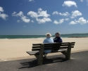 Couple on beach; Listening Helps Prevent Suicide