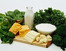 dairy products with greens