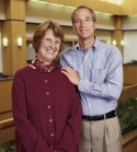 Diana and her husband Ron; Go Red Patient Stories