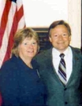 UW Health Cardiology Patient Diane Brown and Representative Steve Kagen from Wisconsin