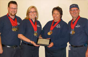 2008 EMS Olympics winners: Divine Savior EMS from Portage