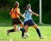 Girls playing soccer; UW Health Sports Medicine Helps Young Athletes