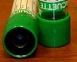 Green stopper tube containing sodium heparin