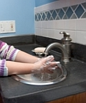 properly wash your hands to help prevent flu