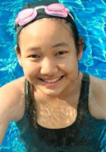 girl swimming; 'Think First' When at the Pool or Beach